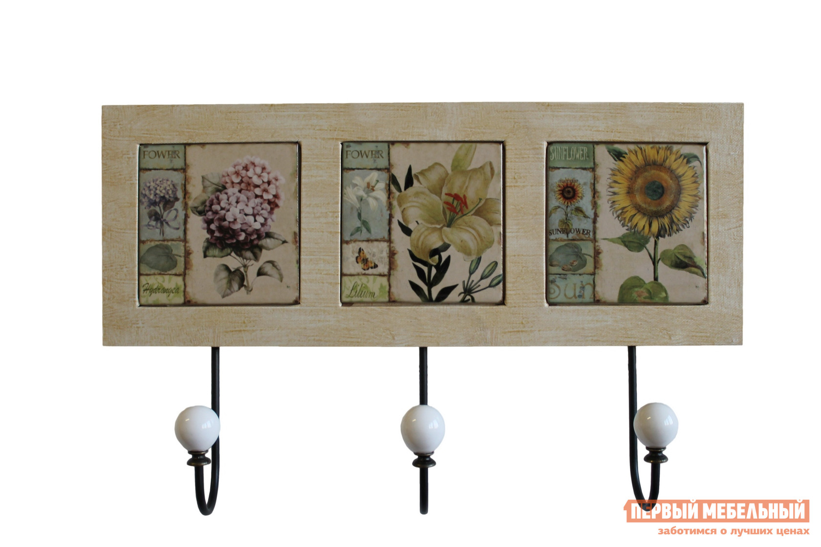 Вешалка МебельТорг X9166 Цветы от Купистол