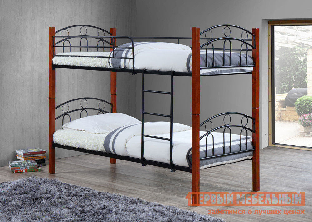 Кровать МебельТорг 216-2T Черный металл