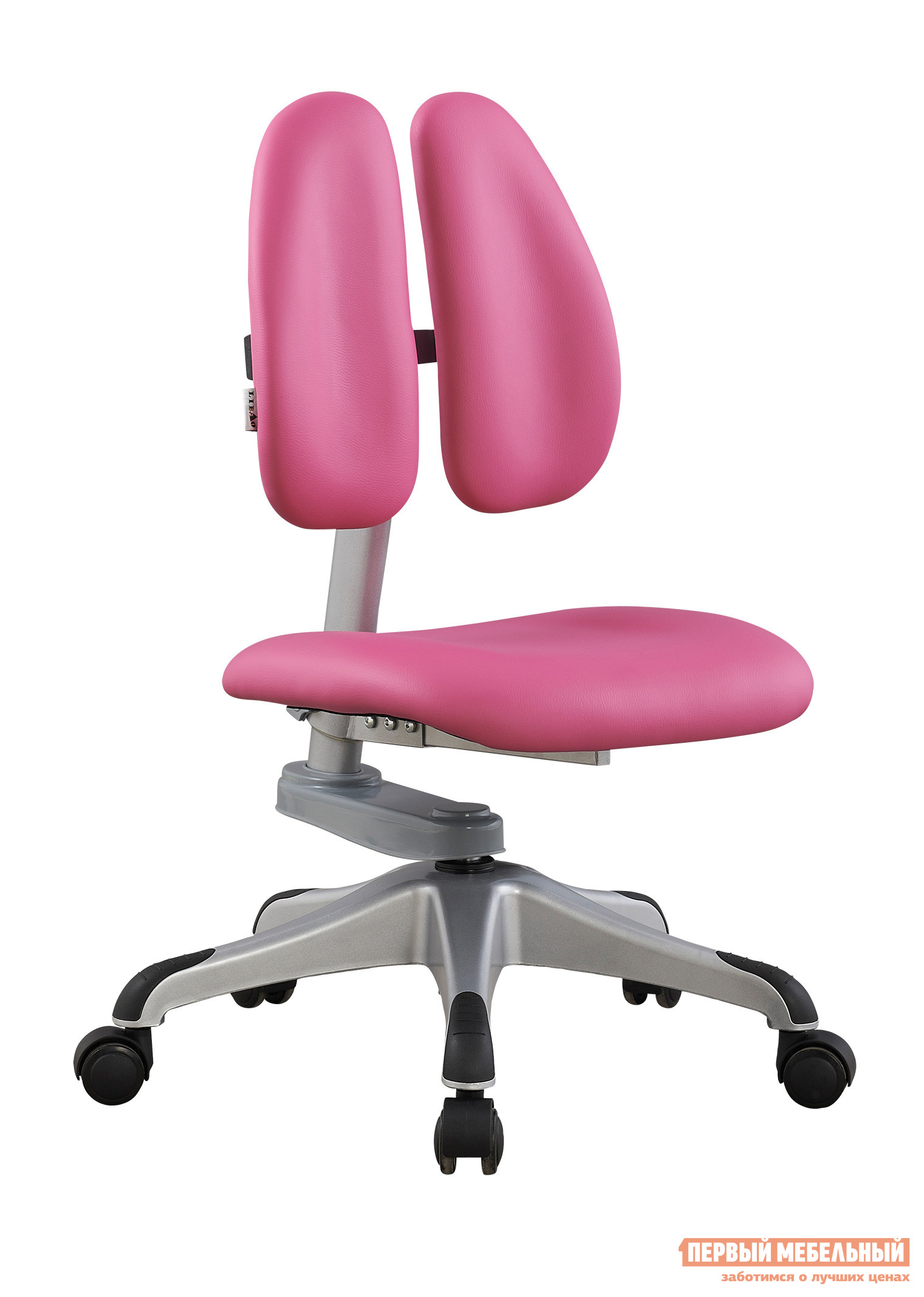 Компьютерное кресло Libao LB-C07 РозовыйКомпьютерные кресла детские<br>Габаритные размеры ВхШхГ 720 / 895x410x400 мм. Эргономичное детское кресло для учебы и творчества. Модель имеет все необходимые регулировки для настройки кресла именно под вашего ребенка, обеспечивая правильное положение спины и осанки во время занятий.  Варианты цвета обивки позволят выбрать кресло практически под любой интерьер. Высота спинки поднимается с 385 мм до 560 мм, что позволит настраивать кресло по мере роста ребенка. Высота от пола до сидения — 330/530 мм. Обивка кресла выполнена из экокожи, крестовина — пластик, каркас металлический. Амортизированные колеса имеют механизм фиксации под весом человека. Максимальная нагрузка на кресло — 100 кг.<br><br>Цвет: Розовый<br>Высота мм: 720 / 895<br>Ширина мм: 410<br>Глубина мм: 400<br>Кол-во упаковок: 1<br>Форма поставки: В разобранном виде<br>Срок гарантии: 1 год<br>Тип: До 80 кг<br>Тип: До 100 кг<br>Тип: Регулируемые по высоте<br>Назначение: Для дома<br>Назначение: Для школьников<br>Материал: Кожа<br>Размер: Маленькие<br>Эргономичные: Да<br>На колесиках: Да<br>Без подлокотников: Да<br>Duorest: Да<br>Ортопедические: Да<br>С низкой спинкой: Да<br>Пол: Для девочек<br>Пол: Для мальчиков