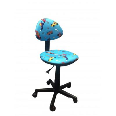 Детское компьютерное кресло Libao LB-C02 Синий (машинки)