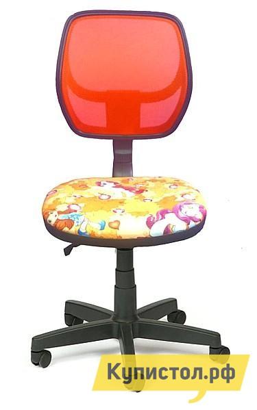 Компьютерное кресло Libao LB-C05 Сетка оранжевая / Пони