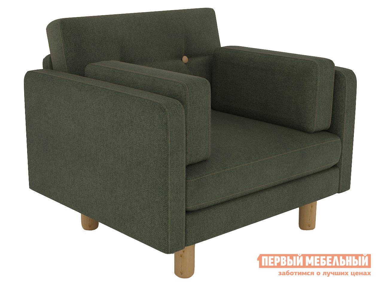 Кресло  Кресло Ингвар Зеленый, велюр — Кресло Ингвар Зеленый, велюр