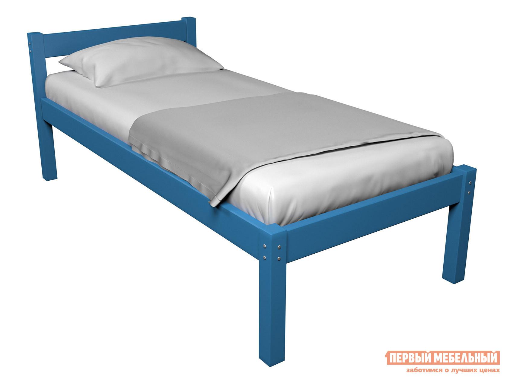 Детская кровать  Кровать Герда Голубой, 90х160 — Кровать Герда Голубой, 90х160