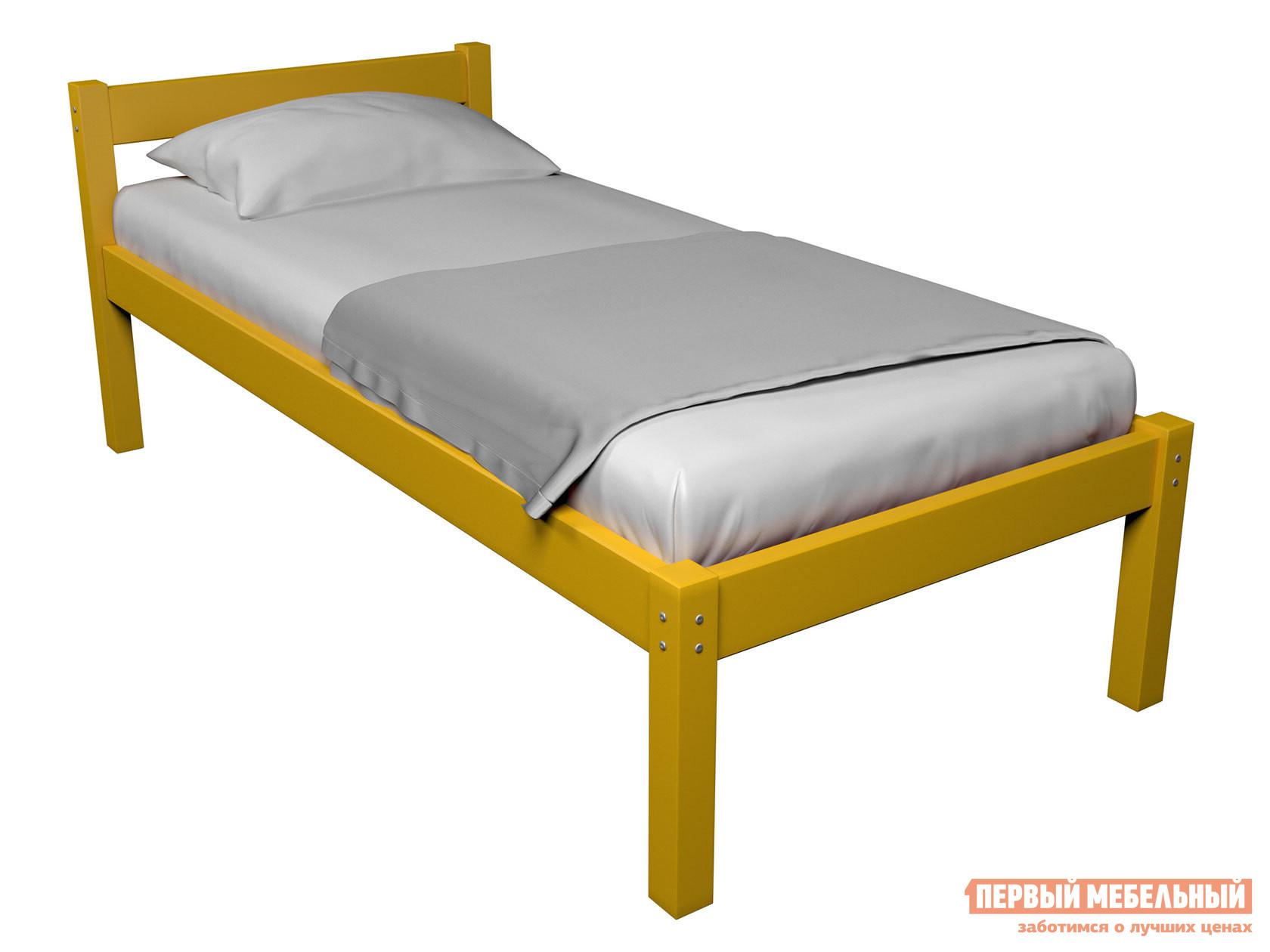 Детская кровать  Кровать Герда Желтый, 90х160 — Кровать Герда Желтый, 90х160