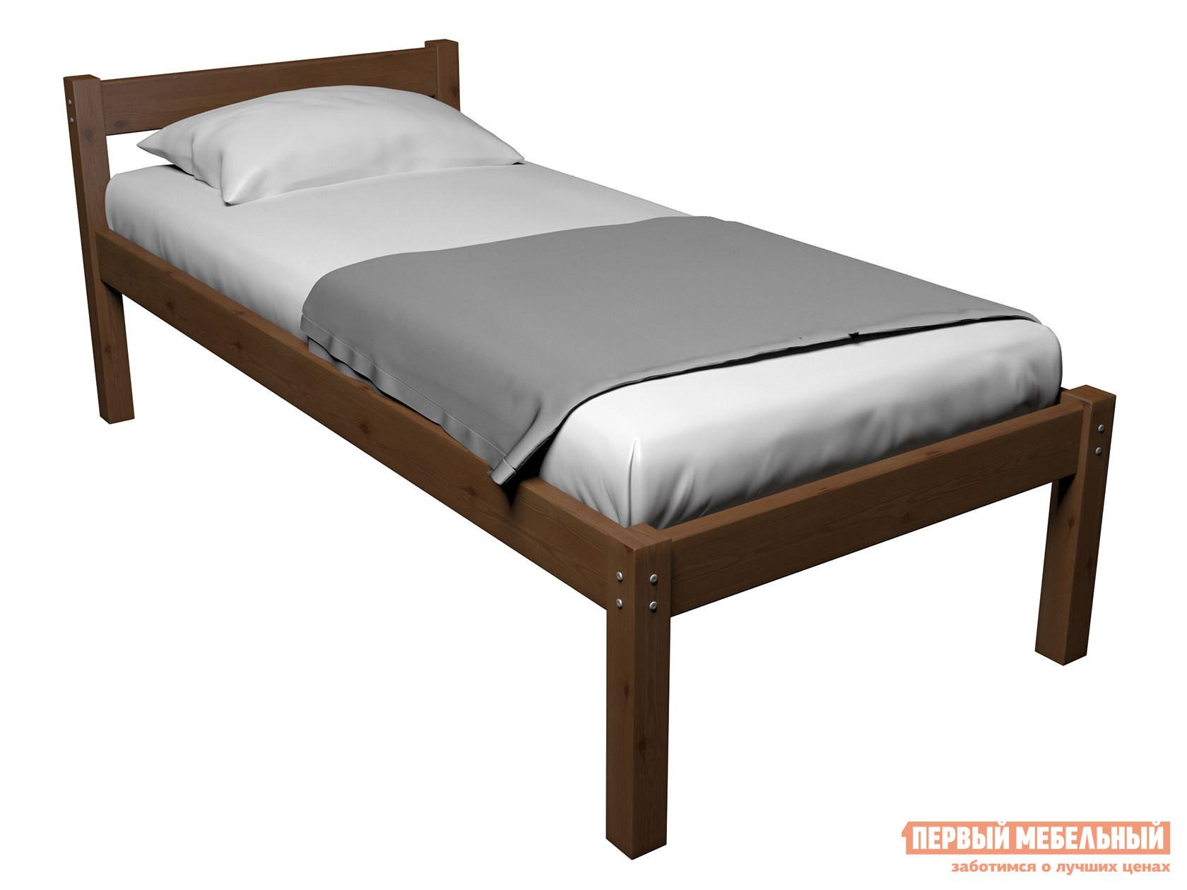 Детская кровать  Кровать Герда Орех, 80х160 — Кровать Герда Орех, 80х160
