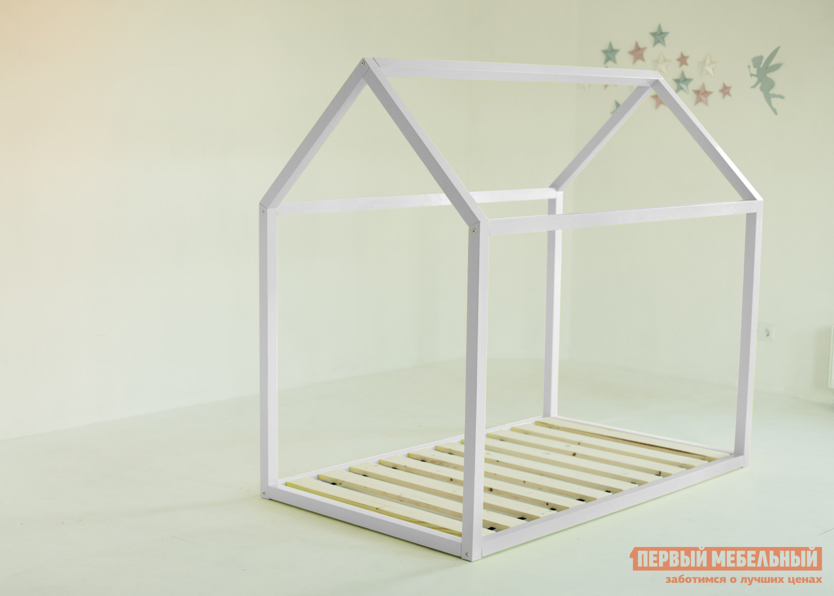 Детская кровать  Дрима Base Белый Ral 9003, 800 Х 1600 мм