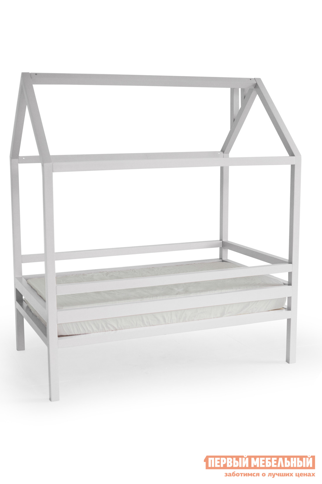 Детская кровать  Дрима Н Белый Ral 9003, 900 Х 1900 мм