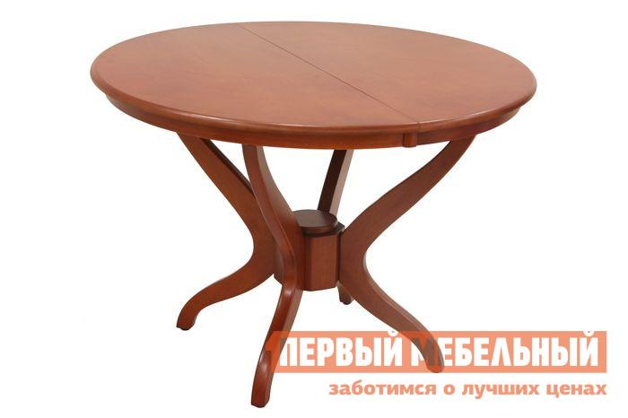 Обеденный стол Бентли Трейд YHT 10608 MNO-EXT DARK CHERRYОбеденные столы<br>Габаритные размеры ВхШхГ 750x1060 / 1390x1060 мм. Элегантный и функциональный раздвижной стол станет украшением вашей обеденной зоны.  Модель имеет четыре ножки, которые в центре соединены.  В сложенном виде столешница круглая, ее диаметр составляет 106 см.  Раскладывается стол без особых усилий, позволяя увеличить полезную площадь изделия.  В собранном виде модель имеет размер (ВхШхГ): 750 х 1060 х 1060 мм;В разложенном (ВхШхГ): 750 х 1390 х 1060 мм. Ножки выполнен из массива гевеи, столешница — МДФ со шпоном гевеи.<br><br>Цвет: Красное дерево<br>Высота мм: 750<br>Ширина мм: 1060 / 1390<br>Глубина мм: 1060<br>Форма поставки: В разобранном виде<br>Срок гарантии: 6 месяцев<br>Тип: Раздвижные<br>Тип: Трансформер<br>Материал: Дерево<br>Материал: МДФ<br>Материал: Натуральное дерево<br>Материал: Шпон<br>Порода дерева: Гевея<br>Форма: Круглые<br>Форма: Овальные<br>Размер: Маленькие