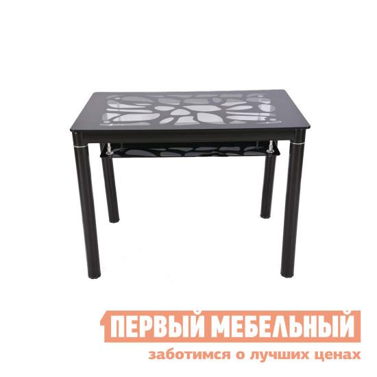 Стол со стеклянной столешницей на кухню Бентли Трейд S828