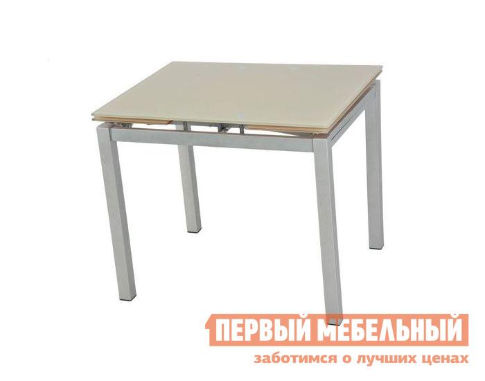 Кухонный стол Бентли Трейд S64(90) BEIGE / ХРОМ