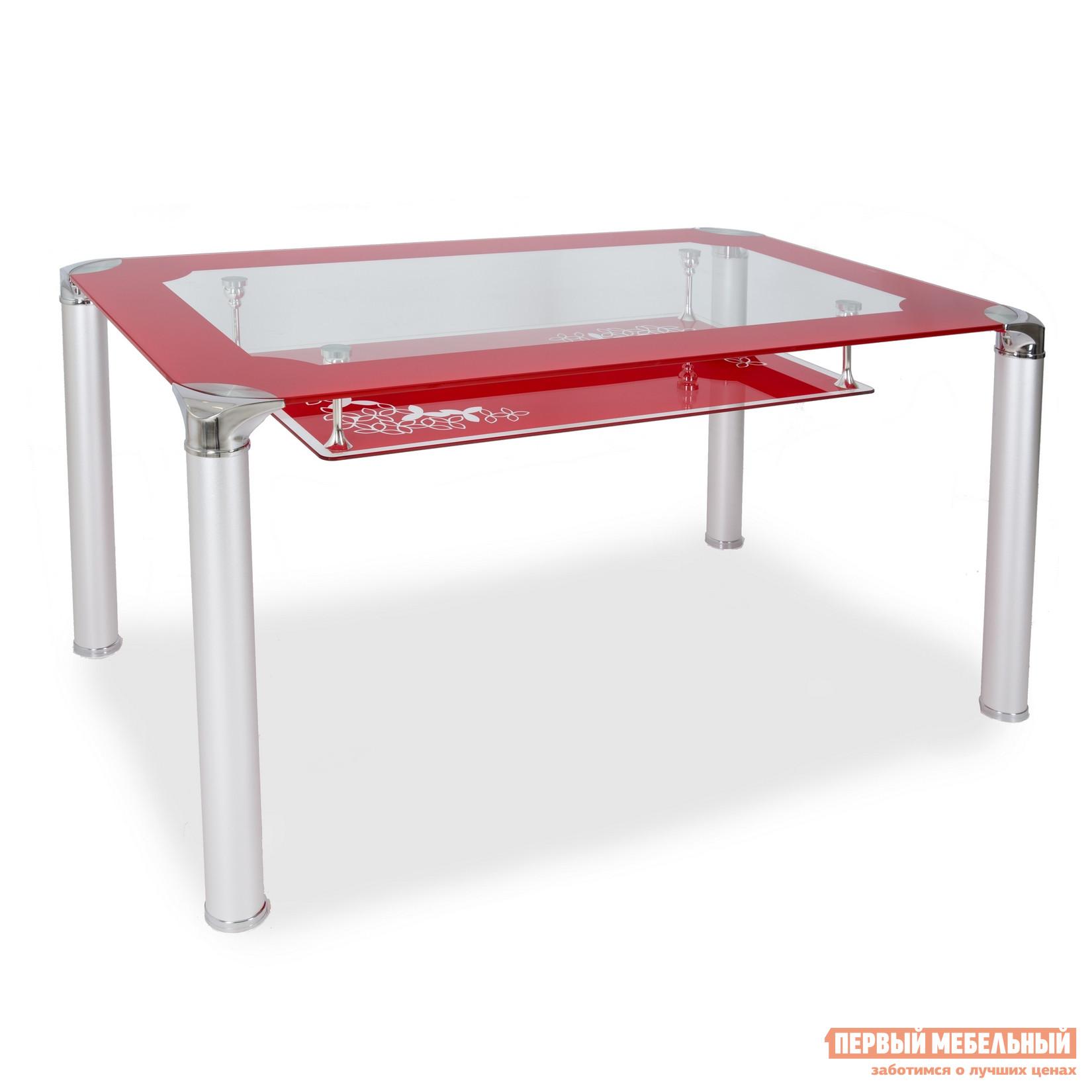 Стеклянный обеденный стол Бентли Трейд S206 (130)
