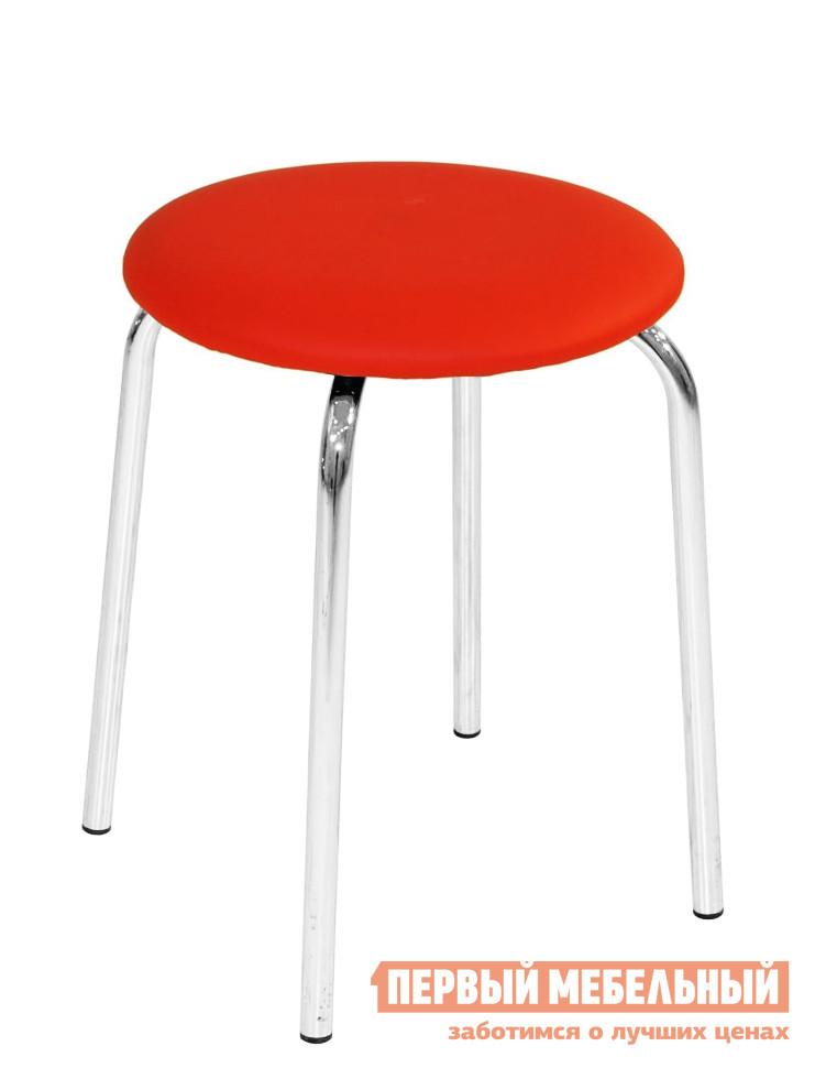 Табурет Бентли Трейд ST-800 REDТабуреты<br>Габаритные размеры ВхШхГ 440x340x340 мм. Круглый табурет с мягким сидением и хромированными ножками.  Разнообразие цветов поможет расставить яркие акценты на вашей кухне. Рекомендуемая максимальная нагрузка на стул составляет не более 100 кг.<br><br>Цвет: Красный<br>Высота мм: 440<br>Ширина мм: 340<br>Глубина мм: 340<br>Форма поставки: В разобранном виде<br>Срок гарантии: 6 месяцев<br>Тип: До 80 кг<br>Тип: До 100 кг<br>Назначение: Для дачи<br>Назначение: Для кухни<br>Форма: Круглые<br>Размер: Маленькие<br>Высота: Низкие<br>С мягким сиденьем: Да<br>С металлическими ножками: Да<br>Стиль: Современный<br>Обивка: Искусственная кожа