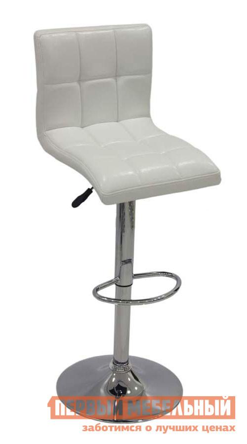 Барный стул Бентли Трейд JY-1005 NEW WHITEБарные стулья<br>Габаритные размеры ВхШхГ 898 / 1118x400x500 мм. Стильный барный стул в лаконичных линиях отлично дополнит современный интерьер кухни. Модель регулируется во высоте, благодаря специальному механизму. Высота сидения — 600 / 820 мм. Обивка стула выполнена из кожзаменителя, ножка и основание — хром.  Максимальная нагрузка на стул составляет 120 кг.<br><br>Цвет: Белый<br>Высота мм: 898 / 1118<br>Ширина мм: 400<br>Глубина мм: 500<br>Форма поставки: В разобранном виде<br>Срок гарантии: 6 месяцев<br>Тип: Для кухни<br>Тип: Регулируемые по высоте<br>Тип: Высота сиденья 600-700мм<br>Тип: Высота сиденья от 800мм<br>Материал: Металл<br>Материал: Искусственная кожа<br>Форма: Квадратные<br>С мягким сиденьем: Да<br>С одной ножкой: Да<br>Со спинкой: Да