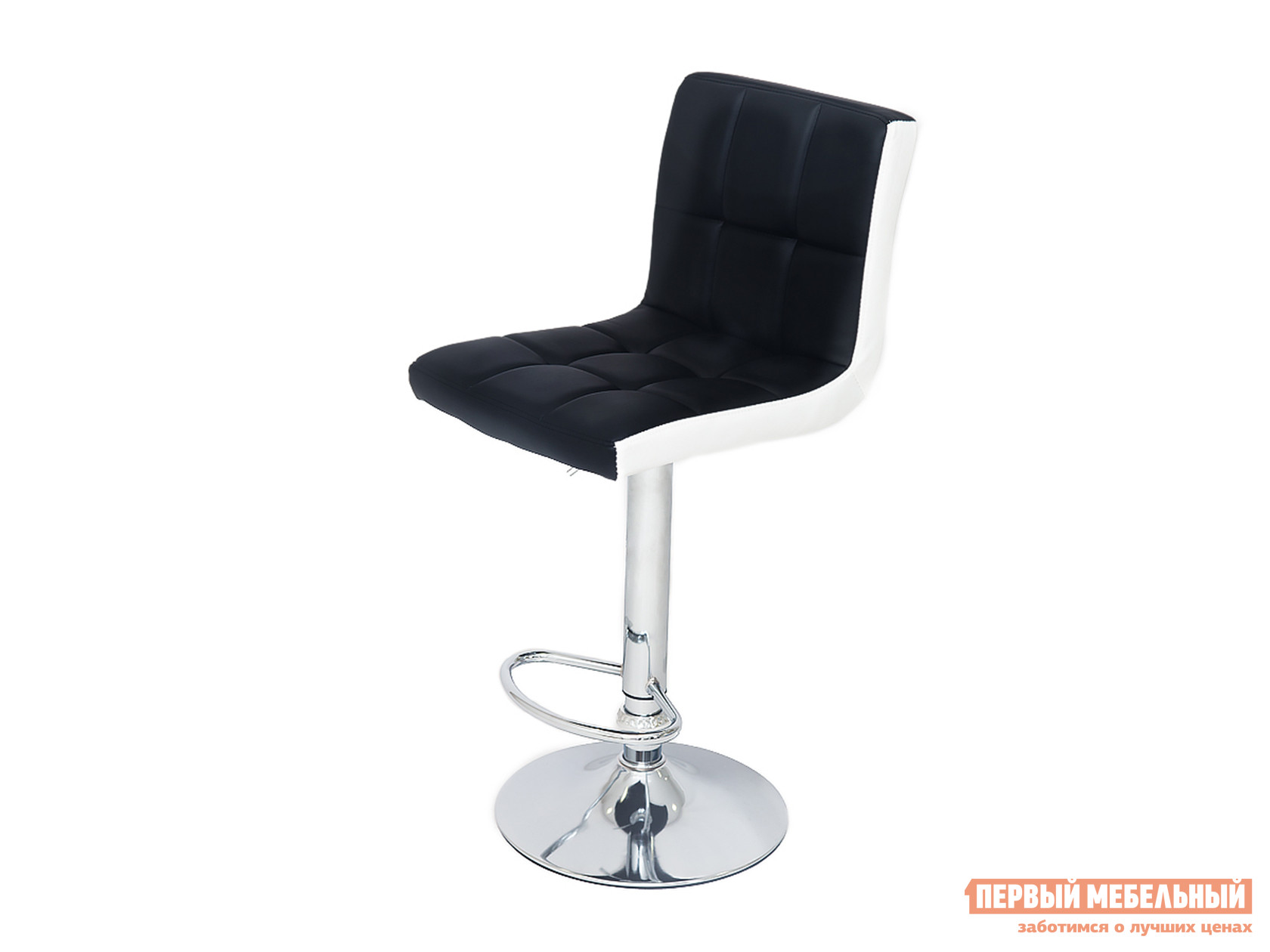 Барный стул Бентли Трейд JY-1005 NEW BLACK / WHITE