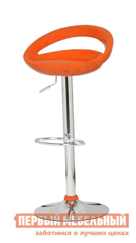 Барный стул Бентли Трейд ABS108 (COMETA) ORANGE plasticБарные стулья<br>Габаритные размеры ВхШхГ 810 / 1030x460x410 мм. Стильный барный стул с низкой спинкой, выполненный в оригинальном сочетании яркого пластика и хромированных деталей.  Высота от пола до сидения изменяется от 600 до 820 мм. Модель оснащена механизмом вращения на 360 градусов. Максимальная нагрузка на стул — 100 кг. Модель регулируется по высоте, благодаря специальному механизму.  Максимальная нагрузка на стул составляет 120 кг.<br><br>Цвет: Красный<br>Цвет: Оранжевый<br>Высота мм: 810 / 1030<br>Ширина мм: 460<br>Глубина мм: 410<br>Форма поставки: В разобранном виде<br>Срок гарантии: 6 месяцев<br>Тип: Для кухни<br>Тип: Регулируемые по высоте<br>Тип: Высота сиденья 600-700мм<br>Тип: Высота сиденья от 800мм<br>Материал: Металл<br>Материал: Пластик<br>Форма: Круглые<br>С подлокотниками: Да<br>С жестким сиденьем: Да<br>С одной ножкой: Да<br>Со спинкой: Да