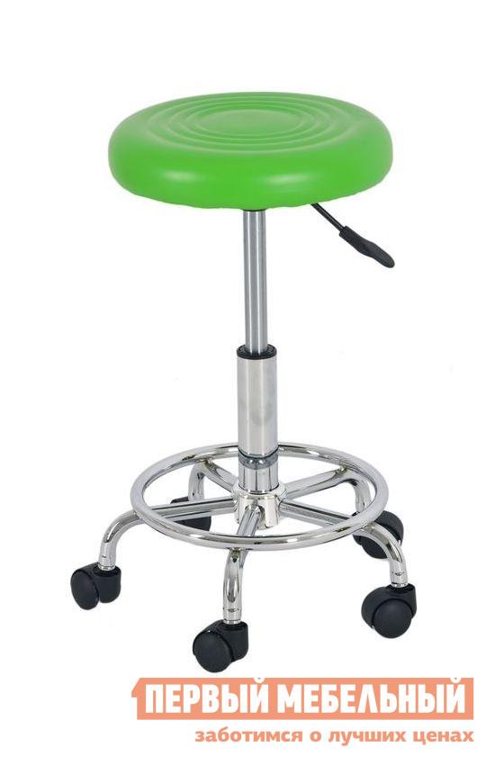 Барный стул Бентли Трейд JY-127 GREENБарные стулья<br>Габаритные размеры ВхШхГ 460 / 610x340x340 мм. Мобильный барный стул-табурет.  Эта необычная модель оснащена колесиками, благодаря которым перемещать изделие легко и удобно.  Благодаря разнообразию расцветок модель подойдет практически для любого интерьера.  Диаметр основания по внешней стороне колесиков составляет 470 мм, а по внутренней — 350 мм. Удобная подножка обеспечивает дополнительный комфорт.  Благодаря специальному механизму модель регулируется по высоте. Максимальная нагрузка на стул составляет 100 кг. Сидение изготавливается из ABS-пластика, ножки и основание — хромированный металл.<br><br>Цвет: GREEN<br>Цвет: Зеленый<br>Высота мм: 460 / 610<br>Ширина мм: 340<br>Глубина мм: 340<br>Кол-во упаковок: 1<br>Форма поставки: В разобранном виде<br>Срок гарантии: 6 месяцев<br>Тип: Для кухни, Регулируемые по высоте, Высота сиденья до 600мм, Высота сиденья 600-700мм<br>Материал: Металлические, Пластиковые<br>Форма: Круглые<br>Особенности: На колесиках, С жестким сиденьем, С одной ножкой, Без спинки