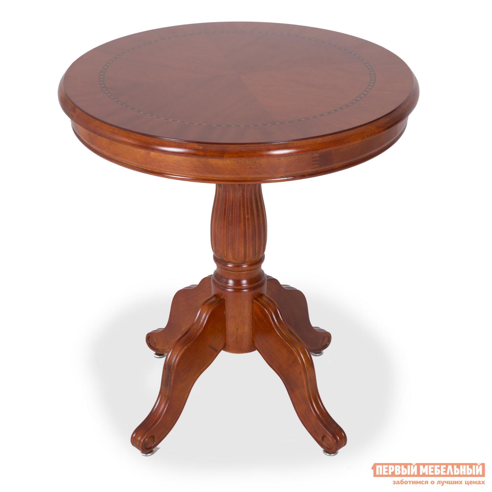 Журнальный столик круглый деревянный Бентли Трейд C100