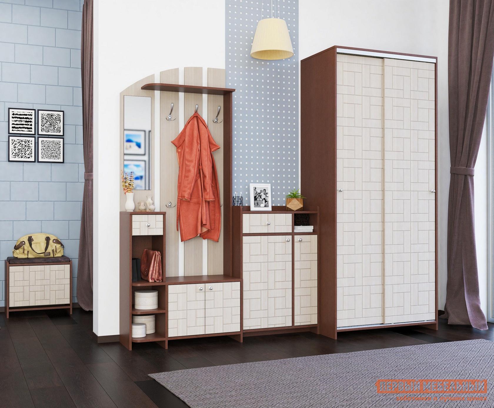 Прихожая в коридор МО РОСТ Восток К1 спальный гарнитур трия саванна к1