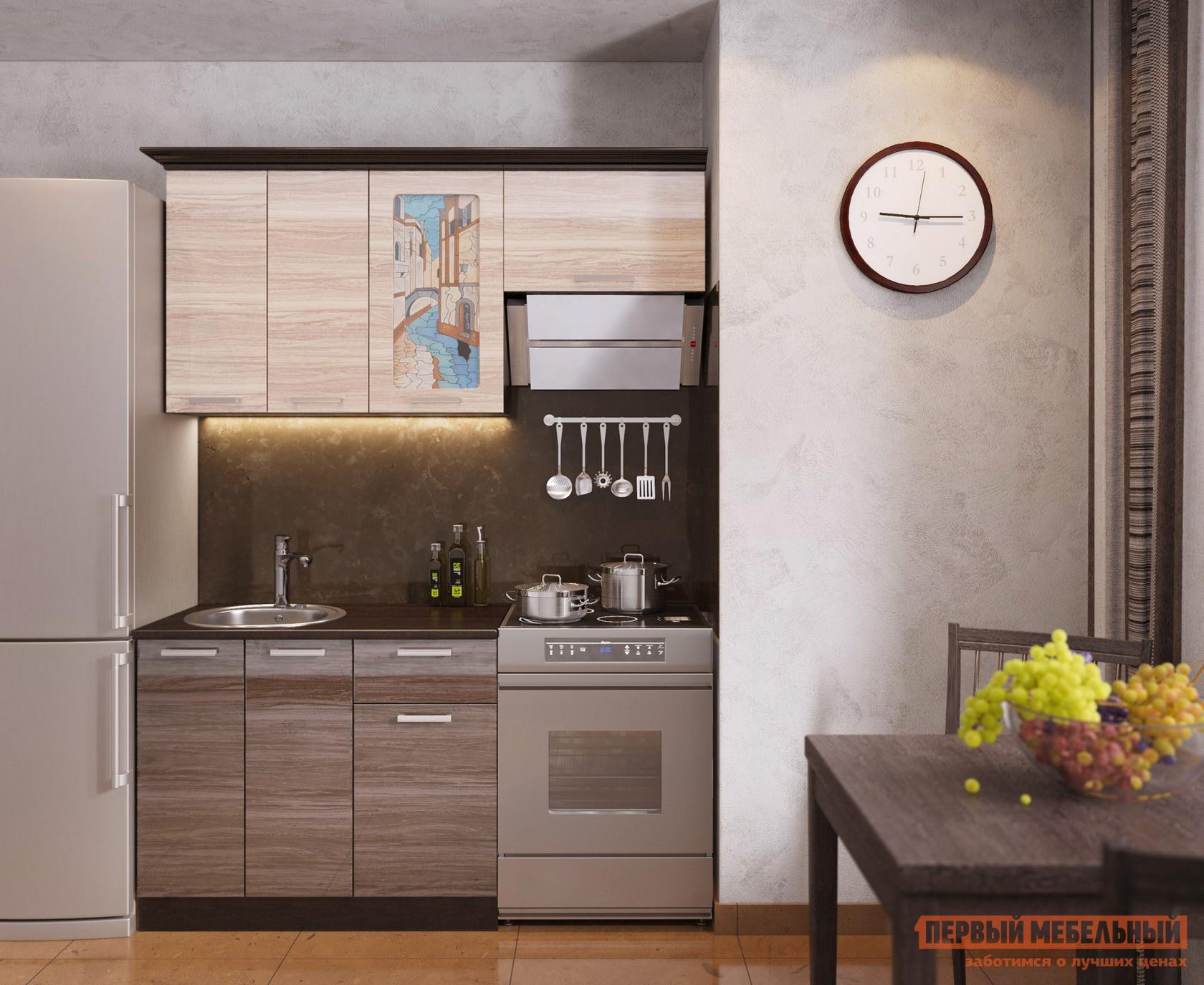 Кухонный гарнитур в стиле лофт МО РОСТ Венеция 1