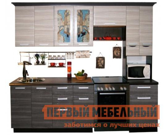 Кухонный гарнитур в стиле лофт МО РОСТ Венеция 4 кухонный гарнитур мо рост венеция 2 угол