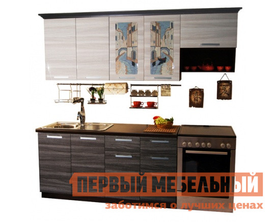 Кухонный гарнитур в стиле лофт МО РОСТ Венеция 3 кухонный гарнитур мо рост венеция 2 угол