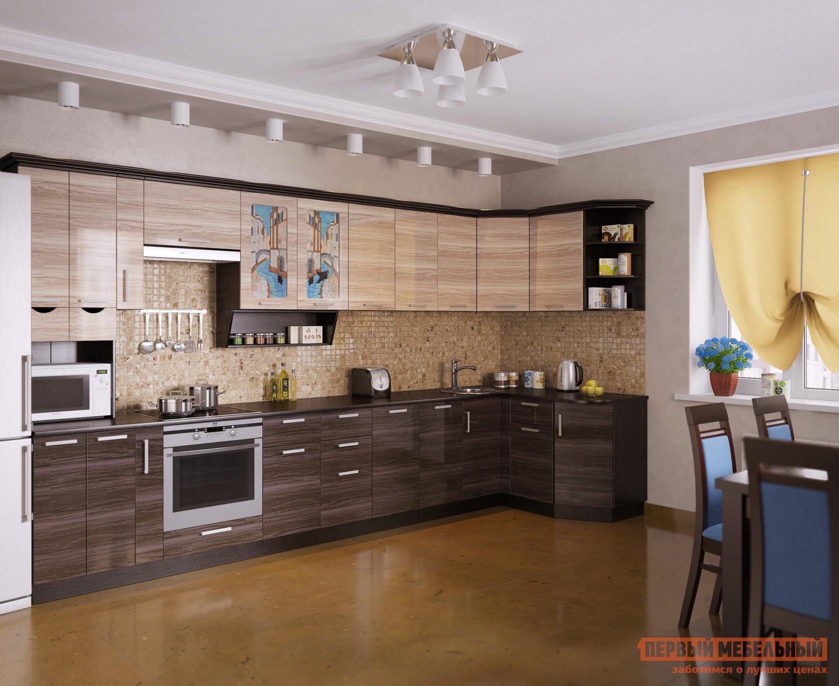 Кухонный гарнитур МО РОСТ Венеция 5 Угол кухонный гарнитур трия фэнтези 120 см