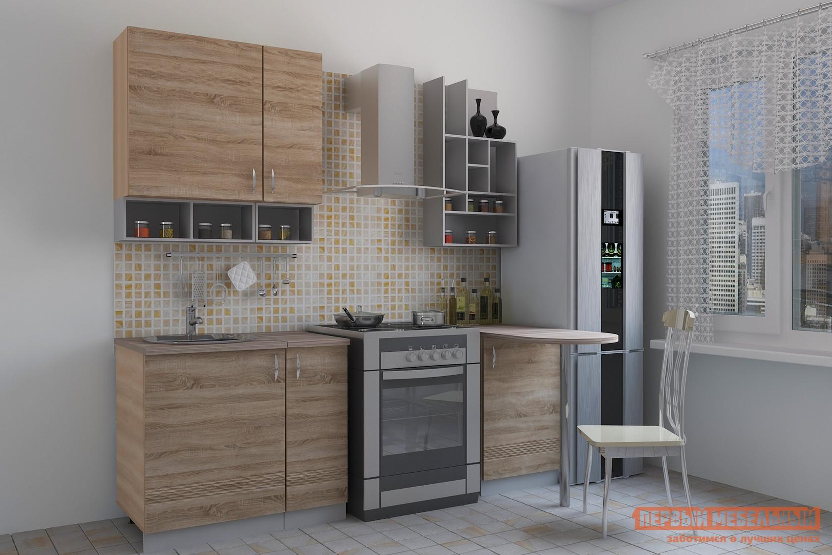 Кухонный гарнитур с барной стойкой МО РОСТ Тоскана 3 (terzo)