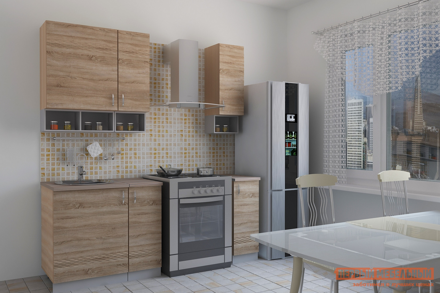 Кухонный гарнитур МО РОСТ Тоскана 1 (prima) кухонный гарнитур трия фэнтези 120 см