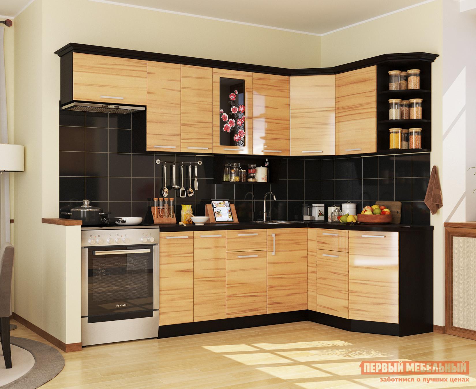 Угловой кухонный гарнитур МО РОСТ Сакура Угол 1 кухонный гарнитур мо рост венеция 2 угол