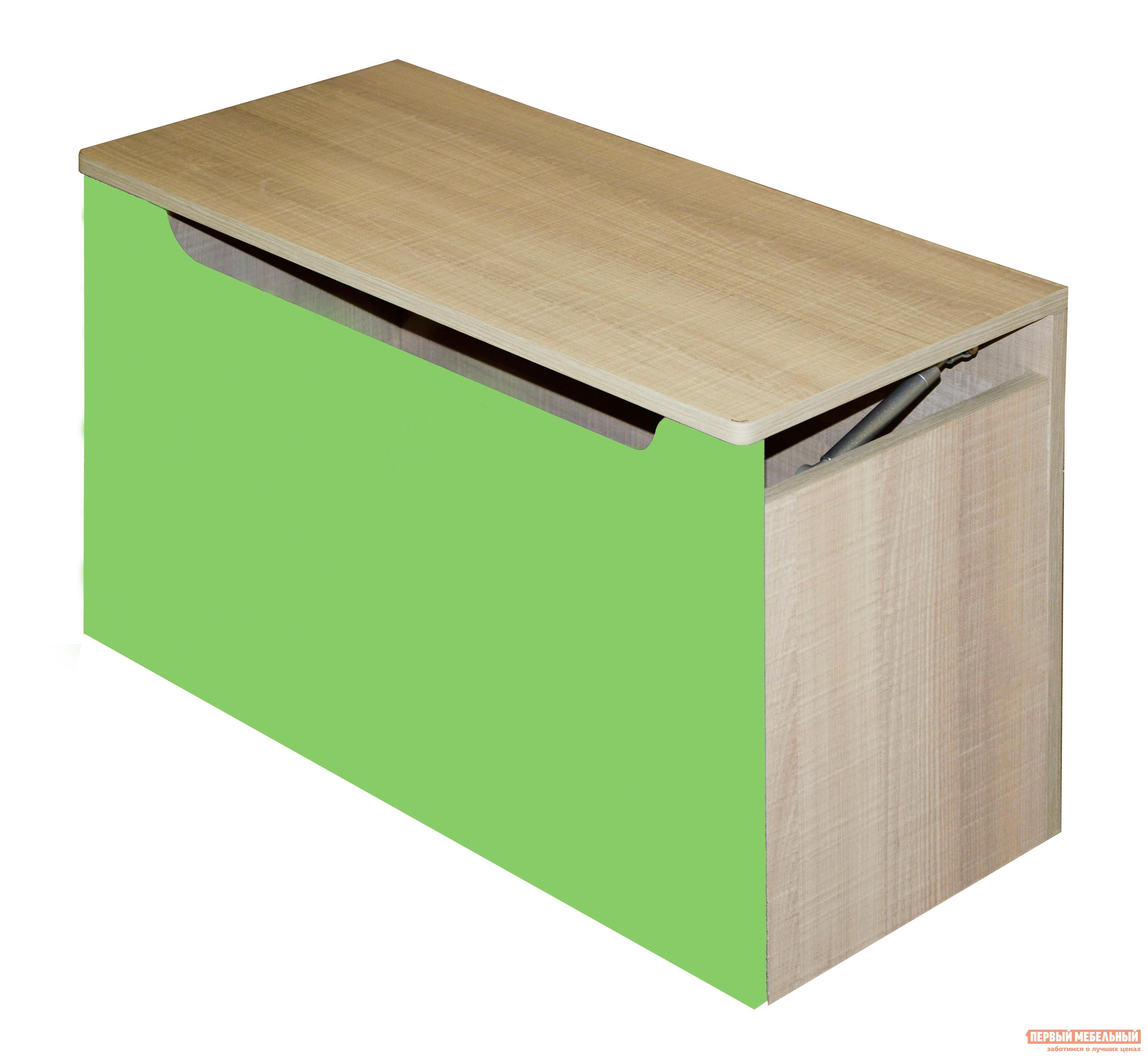 Комод детский  Жили-были Мадейра / Зеленый глянец