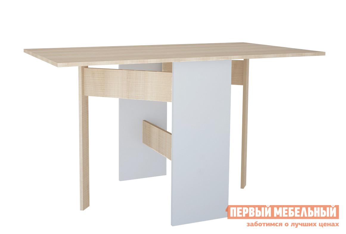 Стол-книжка МО РОСТ Стол трансформируемый Первой цены Мадейра / Серый