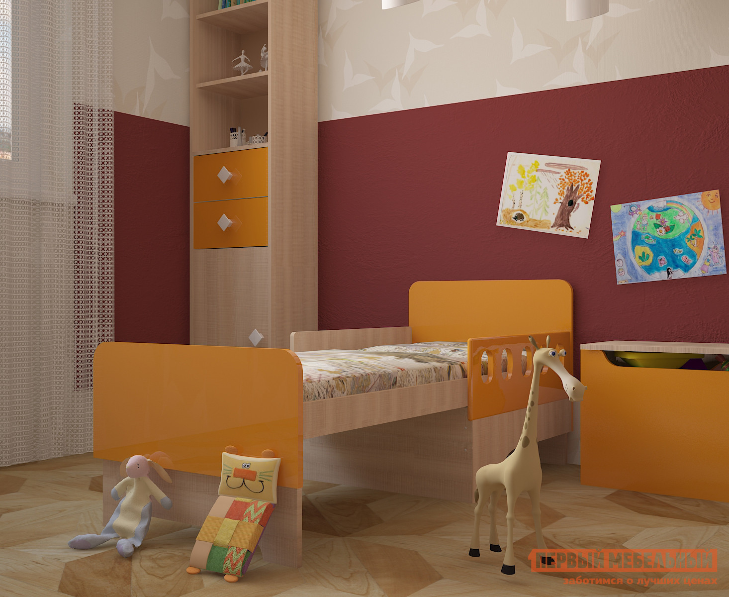Детская кровать МО РОСТ Жили-были вырастайка азбукварик смартфон жили были