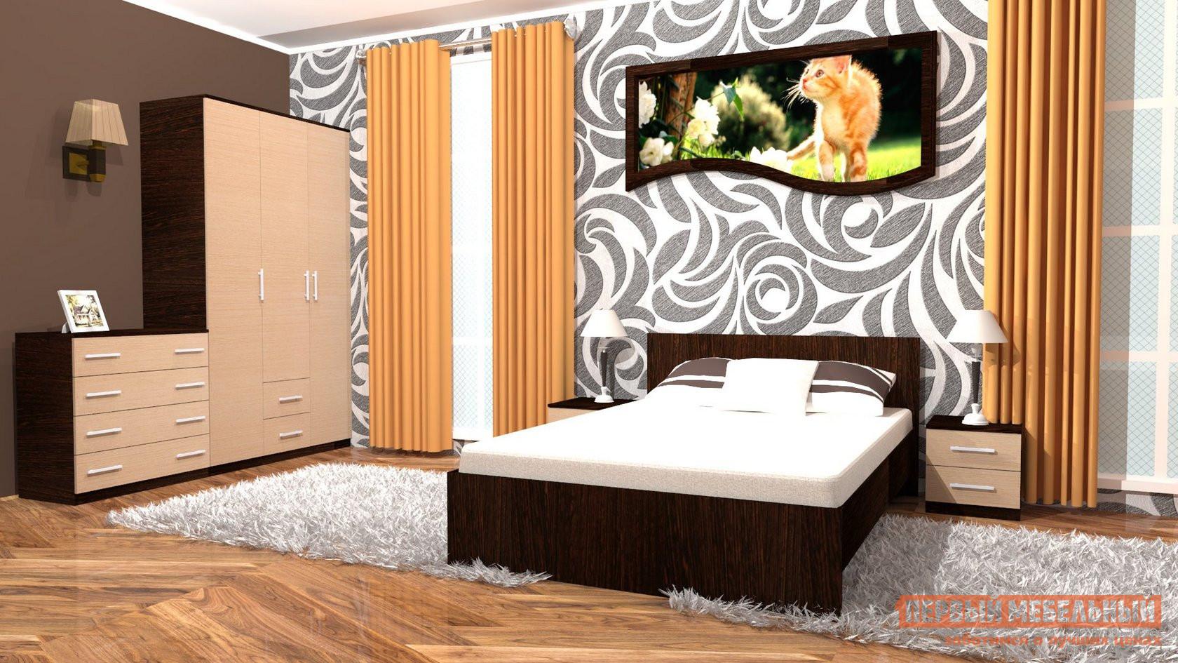 Спальный гарнитур МО РОСТ Румба К3 кухонный гарнитур витра глория 3 к3