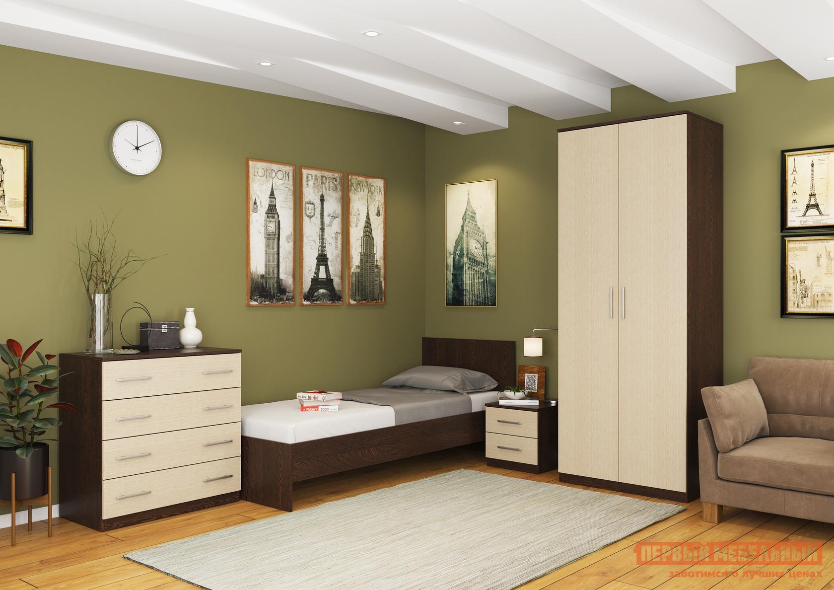 Спальный гарнитур МО РОСТ Румба К2 спальный гарнитур трия лючия к2