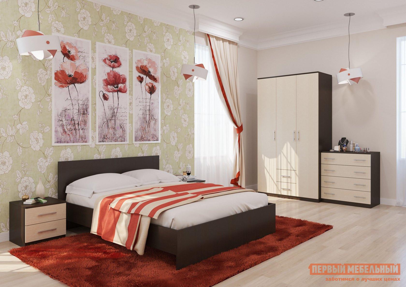 Спальный гарнитур МО РОСТ Румба К1 спальный гарнитур нк мебель марика к1