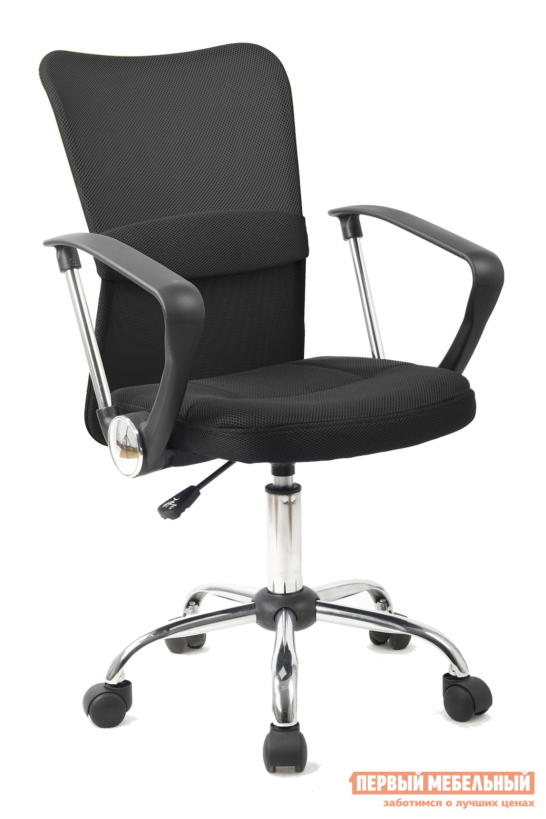 Офисное кресло College H-298FA-1-2 Черный College Габаритные размеры ВхШхГ 900 / 1000x540x510 мм. Оригинальное офисное кресло поможет снять лишнюю нагрузку со спины во время напряженного рабочего дня.  Сетчатая спинка обеспечит воздухопроницаемость и комфорт. <br>Кресло оборудовано механизмом качания Топ-ган с регулировкой под вес и фиксацией в вертикальном положении. </br>Высота кресла регулируется от 900 до 1000 мм. <br>Обивка выполнена из износоустойчивой акриловой сетки. <br></br>Корпус изготовлен из ударопрочного экологически чистого пластика с хромированными деталями. </br>Крестовина выполнена из хромированного металла. </br>Кресло рассчитано на максимальный вес 120 кг. <br>