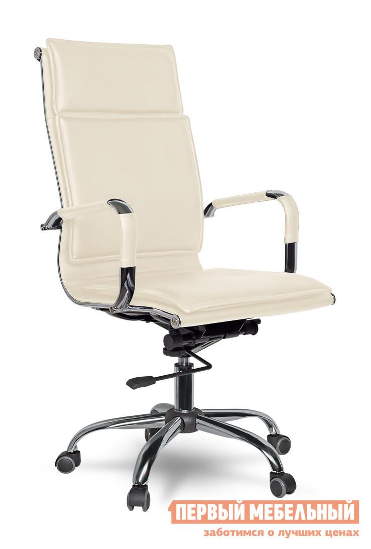 Кресло руководителя College XH-635 БежевыйКресла руководителя<br>Габаритные размеры ВхШхГ 1100 / 1160x500x470 мм. Удобное руководительское кресло в современном дизайне.  Модель станет стильным дополнением офиса, так и в домашний кабинет.  Высокая спинка и мягкое сидение обеспечат комфортное пребывание в кресле. Кресло оборудовано механизмом качания Топ-ган с регулировкой под вес и фиксацией в вертикальном положении. Высота сидения регулируется при помощи газлифта от 49 до 55 см. Высота спинки составляет 71 см. Обивка выполнена из кожи с полиуретановым покрытием, задняя часть спинки — искусственная кожа. Крестовина и подлокотники изготовлены хромированного металла. Подлокотники оформлены кожаными накладками. Колесики изготавливаются из полиамида по стандарту BIFMA 5,1. Максимальная нагрузка на кресло — 120 кг.<br><br>Цвет: Бежевый<br>Цвет: Бежевый<br>Высота мм: 1100 / 1160<br>Ширина мм: 500<br>Глубина мм: 470<br>Кол-во упаковок: 1<br>Форма поставки: В разобранном виде<br>Срок гарантии: 18 месяцев<br>Тип: До 80 кг, До 100 кг, До 120 кг, До 90 кг<br>Материал: Кожаные<br>Особенности: С подлокотниками, С хромированной крестовиной, С подголовником