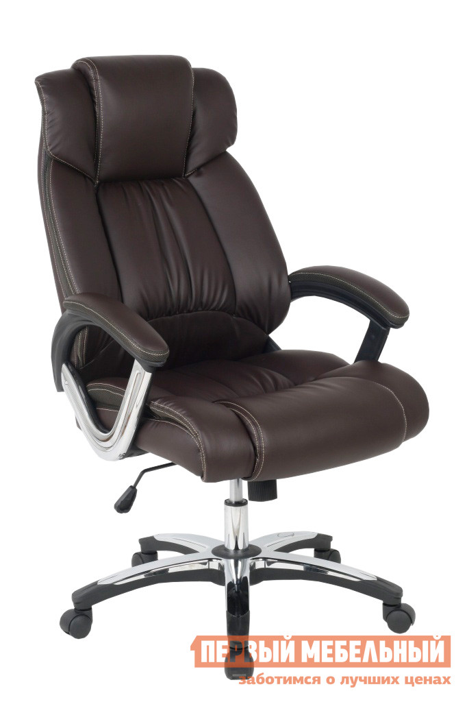 Кресло руководителя College H-8766L-1 Коричневый