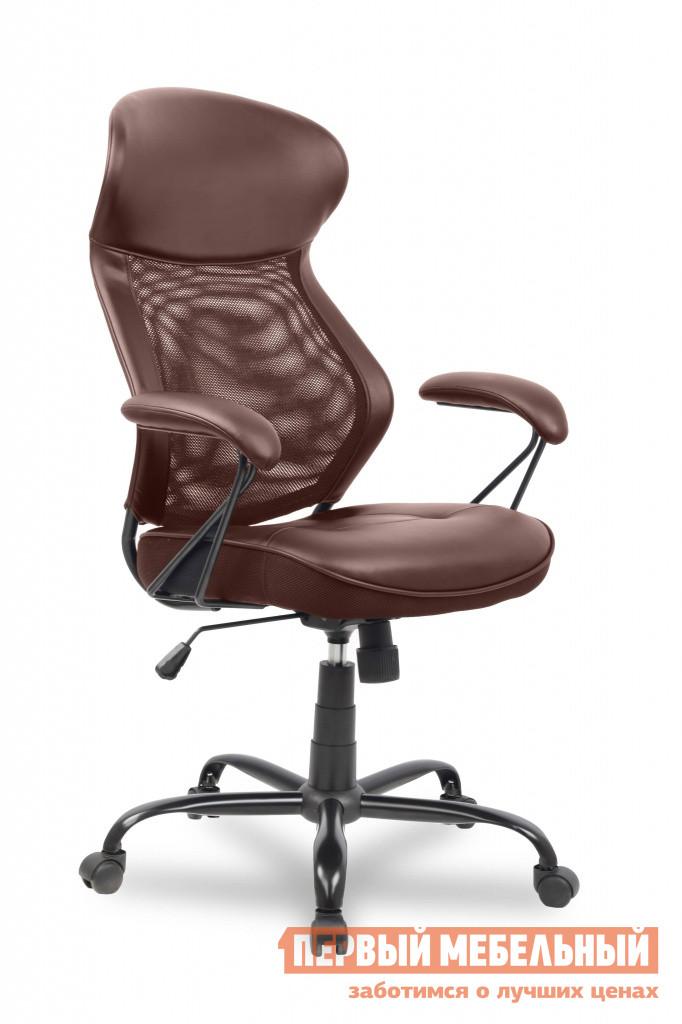 Кожаное кресло для офиса College HLC-0370 кресло компьютерное college hlc 0370 brown