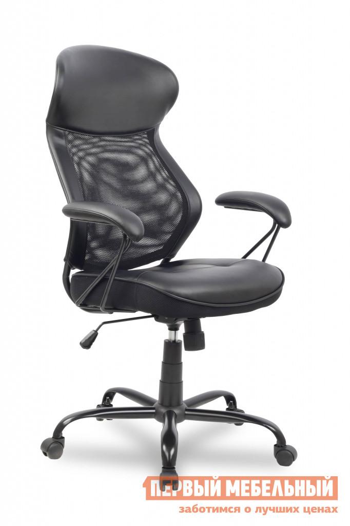 Офисное кресло College HLC-0370 ЧерныйОфисные кресла<br>Габаритные размеры ВхШхГ 1130 / 1220x700x670 мм. Сделать работу за компьютером легкой и комфортной для вашей спины поможет это эргономичное кресло.  Изгибы спинки точно повторяют естественные изгибы позвоночника и осуществляют его полную поддержку — от поясницы до шейного отдела.  Сетчатое исполнение обеспечивает циркуляцию воздуха. Кресло оборудовано механизмом качания Топ-ган с регулировкой под вес и фиксацией в вертикальном положении. Высота сиденья регулируется при помощи газлифта от 60 до 70 см. Высота спинки составляет 70 см. Обивка выполнена из износоустойчивого акрила со вставками из кожи с полиуретановым покрытием.  Такое покрытие придает коже дополнительную мягкость, эластичность и износоустойчивость. Подлокотники — окрашенный металл с кожаными мягкими накладками. Крестовина изготовлена из крашенного металла. Кресло рассчитано на максимальный вес 120 кг.<br><br>Цвет: Черный<br>Цвет: Черный<br>Высота мм: 1130 / 1220<br>Ширина мм: 700<br>Глубина мм: 670<br>Кол-во упаковок: 1<br>Форма поставки: В разобранном виде<br>Срок гарантии: 18 месяцев<br>Тип: До 80 кг, До 100 кг, До 120 кг<br>Материал: Кожаные, С сетчатой спинкой<br>Особенности: Эргономичные, С подлокотниками, С пластиковой крестовиной, С подголовником
