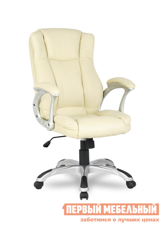 Кресло руководителя College HLC-0631-1 БежевыйКресла руководителя<br>Габаритные размеры ВхШхГ 1030 / 1130x660x690 мм. Классическое кресло для руководителя.  Мягкая обивка подарит вам ощущение уюта и полного комфорта.  Подстроив это кресло под себя, вы насладитесь идеальным положением, которое примет ваше тело. Кресло оборудовано механизмом качания Топ-ган с регулировкой под вес сидящего и фиксацией спинки в вертикальном положении. Высота сиденья регулируется при помощи газлифта от 38 до 48 см. Высота спинки составляет 65 см. Обивка выполнена из кожи PU. Подлокотники изготовлены из ударопрочного пластика с мягкими кожаными накладками. Крестовина изготовлена из ударопрочного пластика с резиновыми накладкими. Кресло рассчитано на максимальный вес 120 кг.<br><br>Цвет: Бежевый<br>Высота мм: 1030 / 1130<br>Ширина мм: 660<br>Глубина мм: 690<br>Кол-во упаковок: 1<br>Форма поставки: В разобранном виде<br>Срок гарантии: 18 месяцев<br>Тип: До 80 кг<br>Тип: До 100 кг<br>Тип: До 120 кг<br>Тип: До 90 кг<br>Тип: Регулируемые по высоте<br>Назначение: Для дома<br>Материал: Кожа<br>Материал: Искусственная кожа<br>Эргономичные: Да<br>С подлокотниками: Да<br>С мягким сиденьем: Да<br>Пластиковая крестовина: Да<br>С подголовником: Да<br>С откидной спинкой: Да