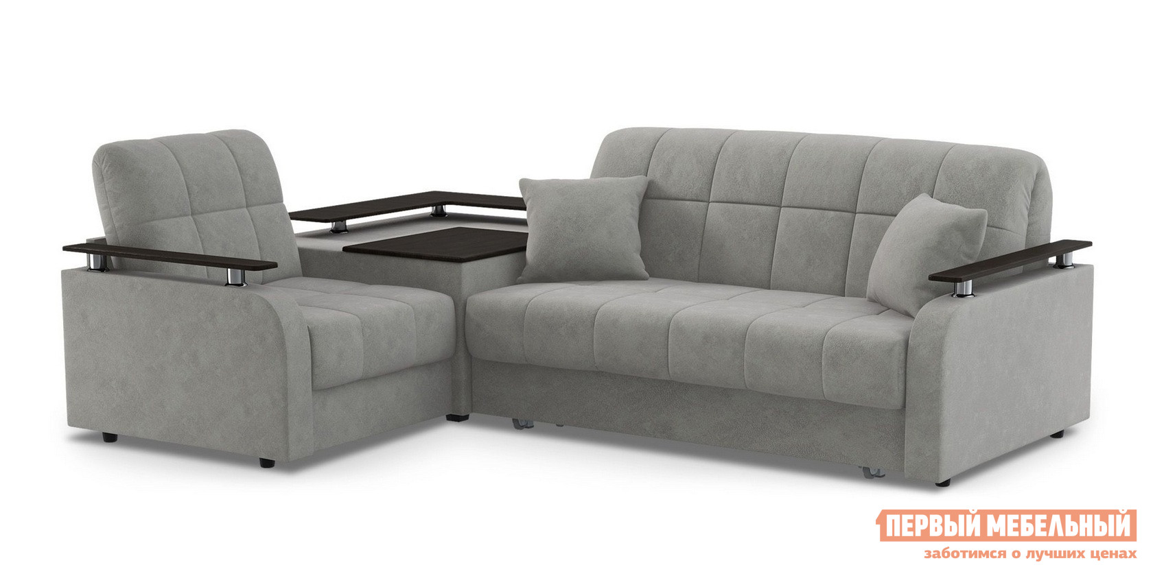 Угловой диван Живые диваны Карина угловой со столиком 044
