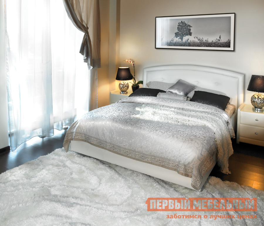 Фото Полутороспальная кровать Askona Grace ПМ