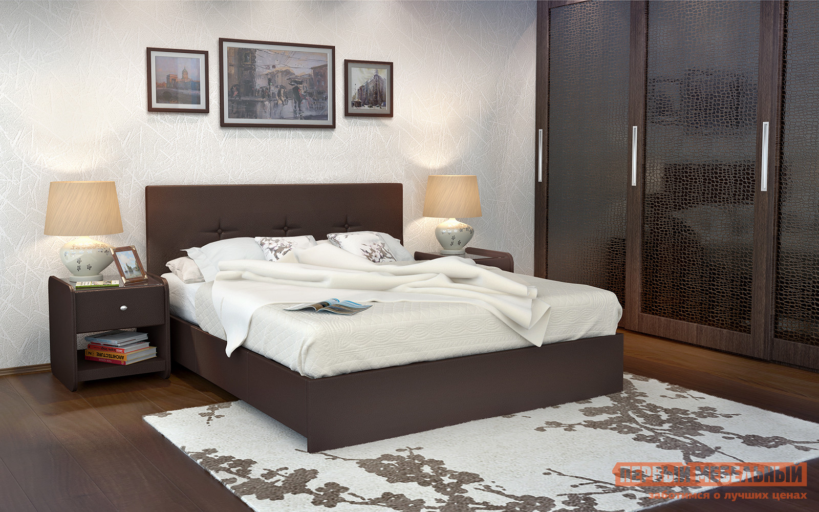 Полутороспальная кровать с подъемным механизмом Askona Isabella ПМ двуспальная кровать orlando аскона орландо с пм с подъемным механизмом 180 x 200