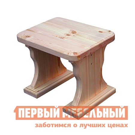 Садовое кресло МФДМ Московия (лак) Табурет деревянный Массив сосны (лак) от Купистол