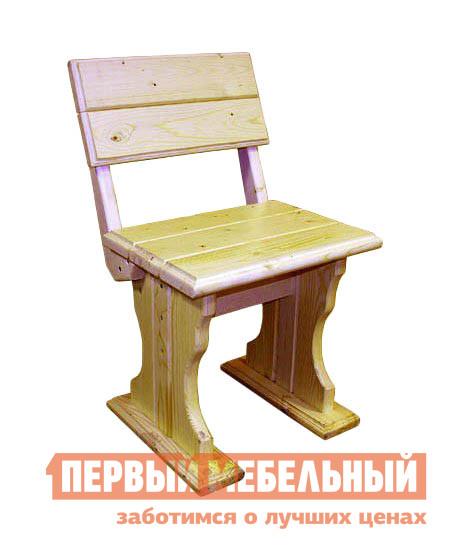 Садовое кресло МФДМ Уют (лак) Стул деревянный Массив сосны (лак)Садовые стулья и кресла<br>Габаритные размеры ВхШхГ 760x450x330 мм. Ничто не заменит на даче традиционный деревянный стул.  Он несет в себе тепло дерева и сохраняет вокруг атмосферу уюта.  Полезный и в саду и за обеденным столом, стул будет радовать вас долгие годы. Модель изготовлена из массива сосны и покрыта защитным водостойким лаком.<br><br>Цвет: Светлое дерево<br>Высота мм: 760<br>Ширина мм: 450<br>Глубина мм: 330<br>Кол-во упаковок: 1<br>Форма поставки: В разобранном виде<br>Срок гарантии: 12 месяцев<br>Материал: Массив дерева<br>Порода дерева: Сосна<br>С жестким сиденьем: Да<br>Без подлокотников: Да