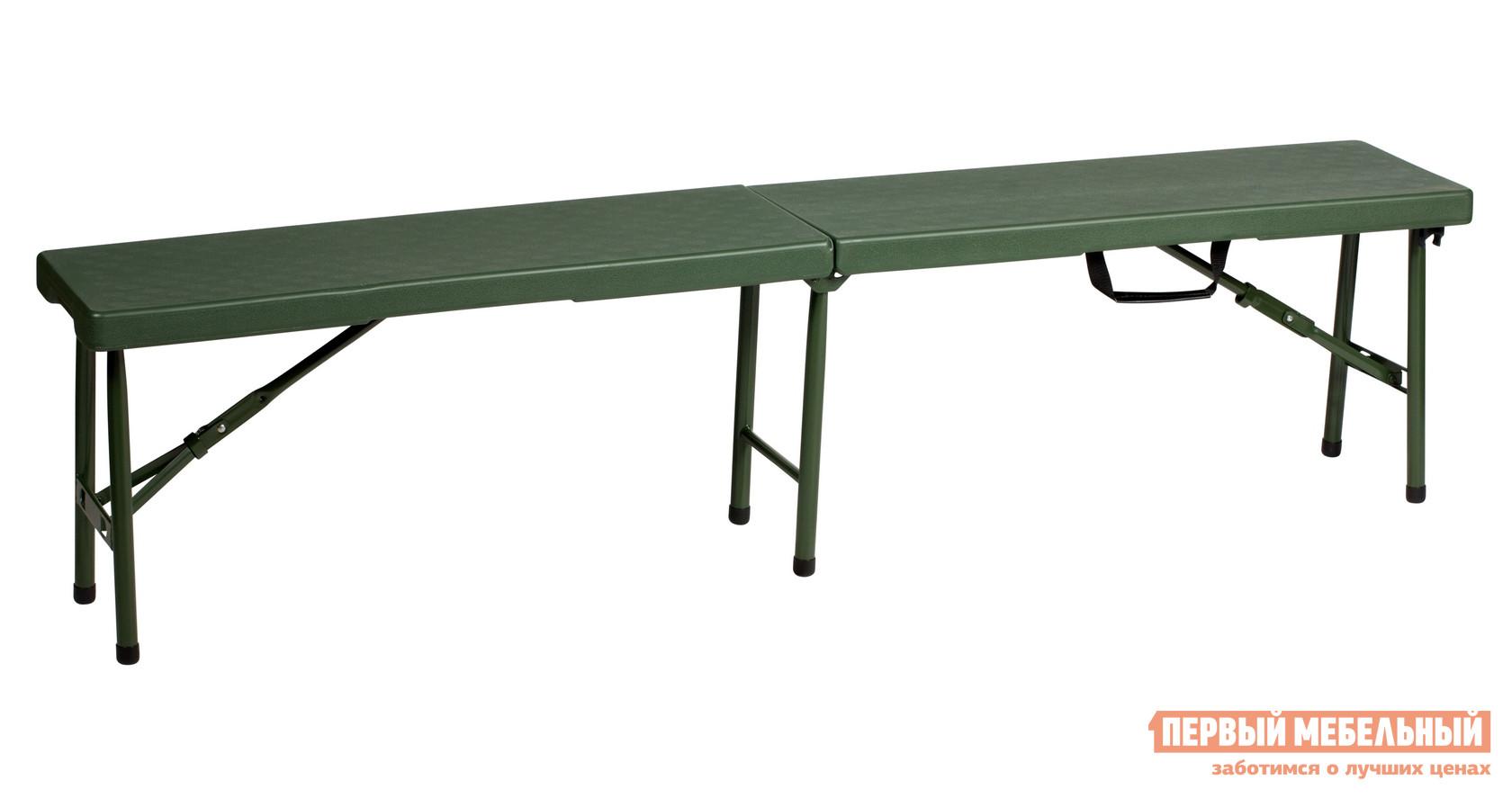 Пластиковая скамья складная для дачи Метмебель PC15FN