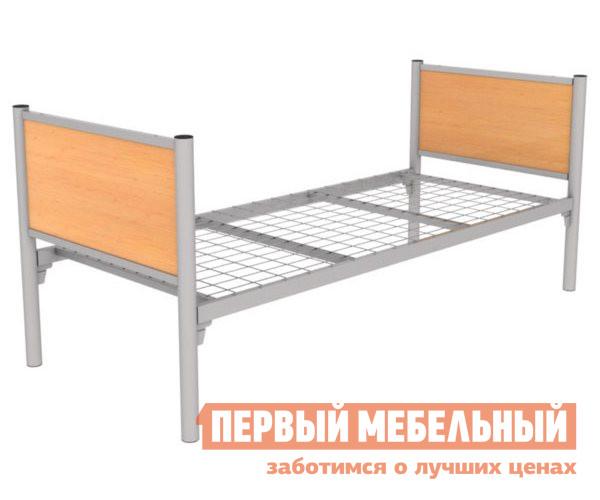 Металлическая одноярусная кровать с деревянными вставками Метмебель КМ 12 Стрелец 1 детская одноярусная кровать tetchair mundial