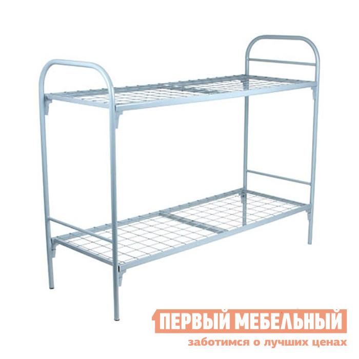 Металлическая кровать МТМ КМ19 Серый