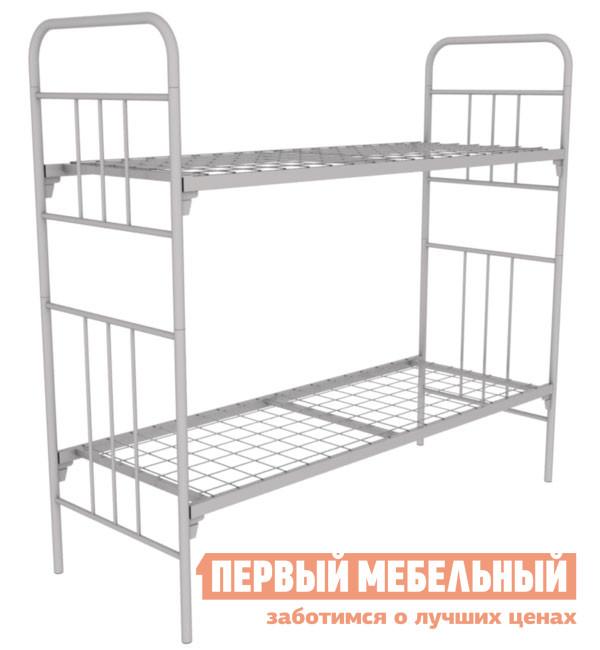 Металлическая двухъярусная кровать Метмебель КМ 6 тип Д цены
